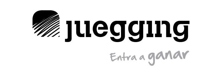 Logo Juegging con el tagline