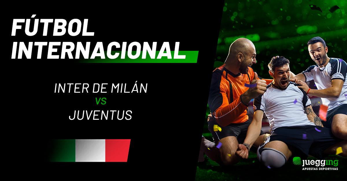 Inter de Milán vs Juventus, el Derbi de Italia.