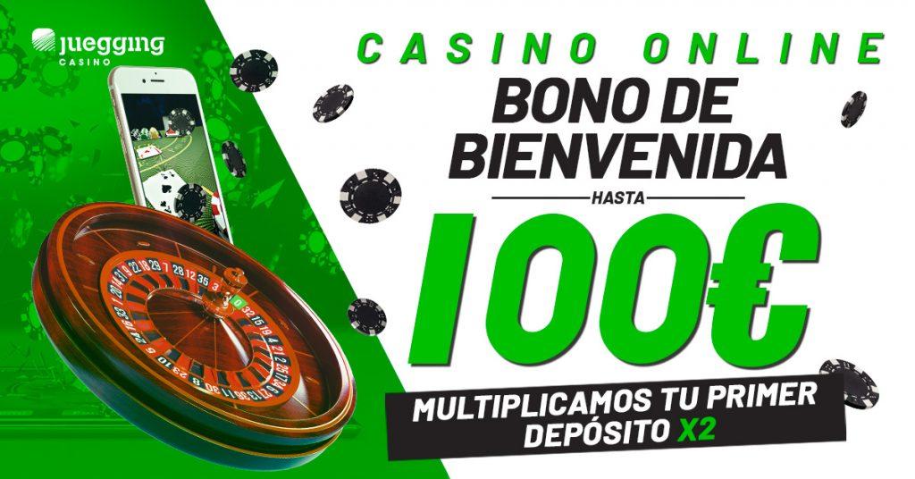 Bono bienvenida Casino 100€