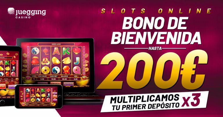 Bono bienvenida slots online