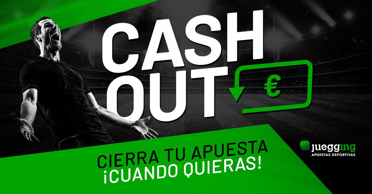 Cierra tu apuesta cuando quieras con Cash Out