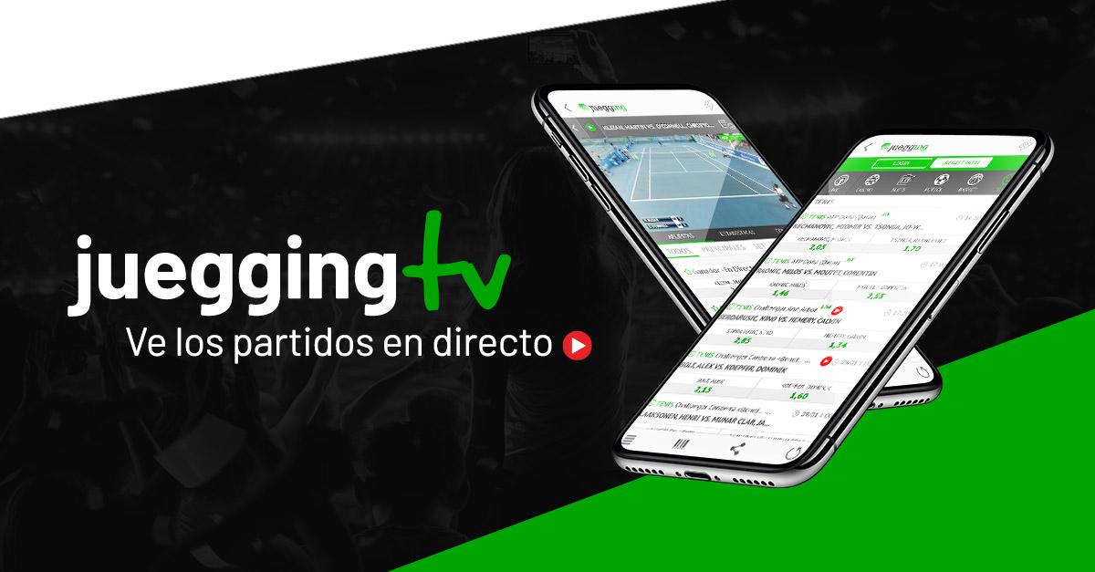 Ver partidos en directo - Juegging TV