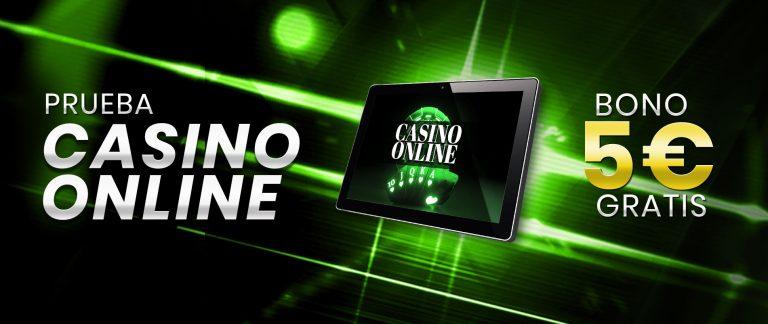 5 Euros gratis para Casino Online