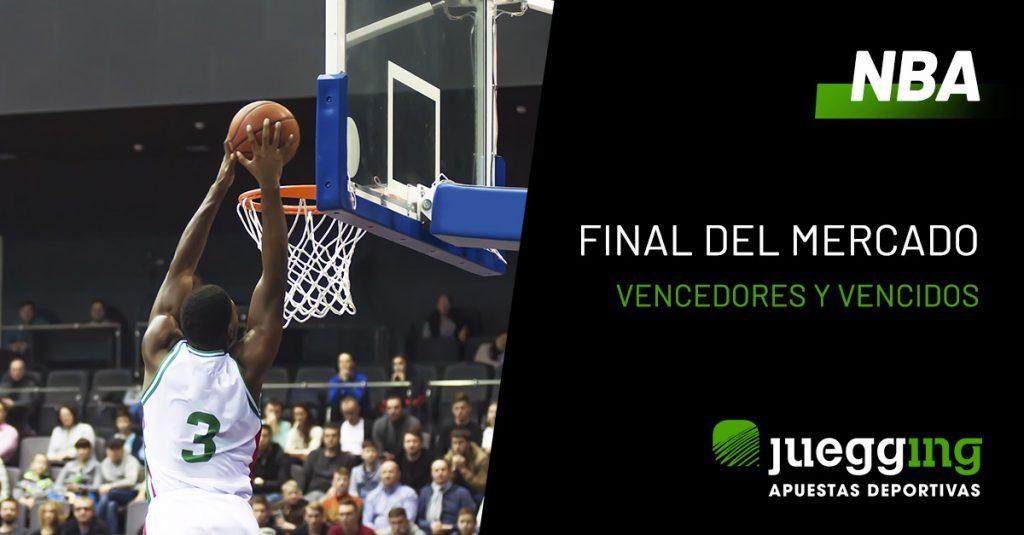 Vencedores y vencidos en el mercado de la NBA